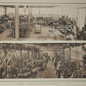 ENKES, interieur fabriek, ca. 1918