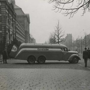 Esso benzinepomp Hoge Wal, 1949