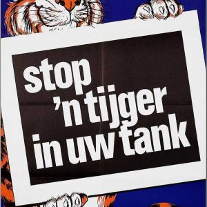 Esso Stop een tijger