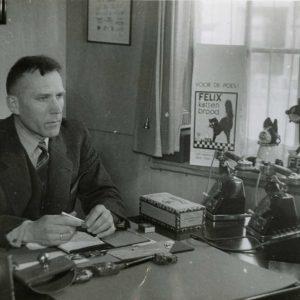 Felix Kattenbrood, kantoor, Verseveldt, 1932