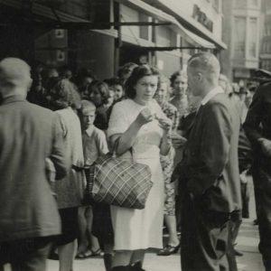 Florencia, ijs, Torenstraat,1943