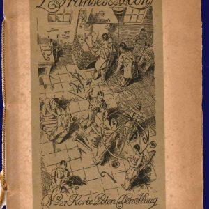 Catalogus smederij L. Franses, 1928