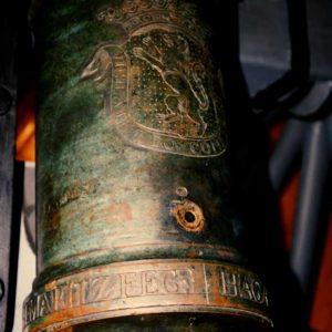 Geschut, Joh. Maritz, kanon, 1775