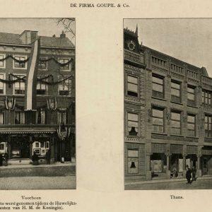 Goupil, Plaats, J.Gram, 1905