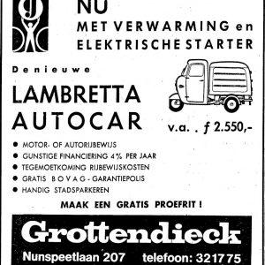 Grottendieck, Lambretta, 1965