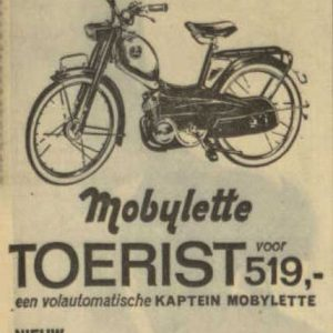 Grottendieck,Mobylette, 1966