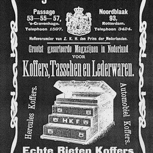 Advertentie, Adresboek 's-Gravenhage, 1906