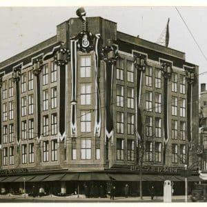Haags Modehuis, Grote Marktstraat,1934