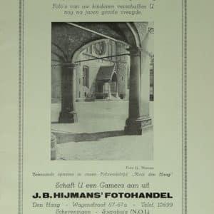 Hijmans, HAFO, reclame, 1928