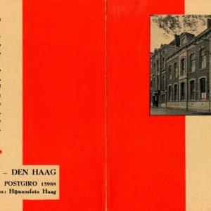 Hijmans, Foto- en Kinogroothandel, Muzenstraat 37, jaren 30