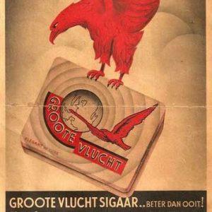 Reclame A. Hillen, sigaren