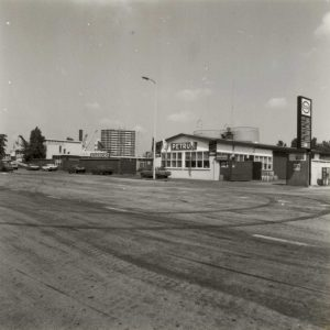Hogervorst, brandstoffenhandel, Waldorpstraat, 1986