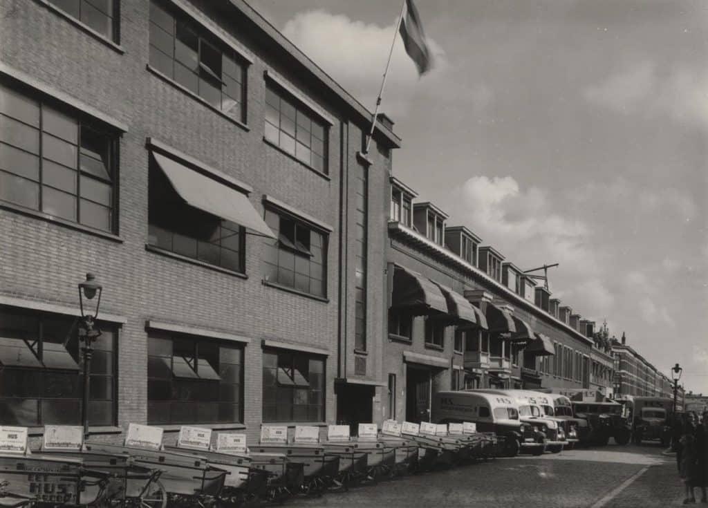 De Husfabriek aan de Jacob Catsstraat, jaren 30