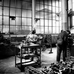 RAC werkplaats, 1e van der Kunstraat, jaren 30