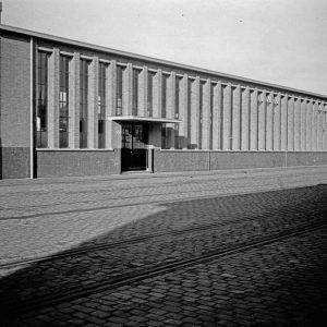 RAC, 1e van der Kunstraat, werkplaats, 1939