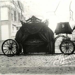 Innemee, Hooikade, rouwkoets, 1910