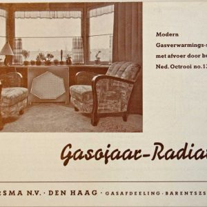 Jan Jaarsma, gasverwarming, Barentzstraat 37-37 A