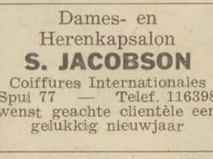 Jacobson, Spui 177, 1960