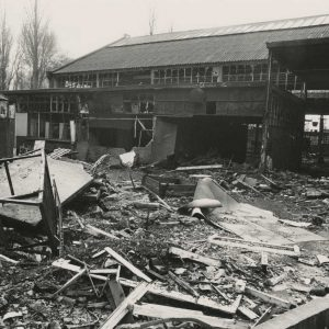 Koop, stalen ramen, Broekweg, Leidschendam, 1979