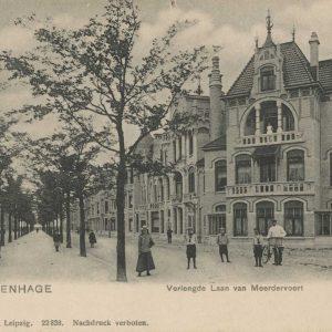 Huizen Laan van Meerdervoort, kalkzandsteen Kranenburg, ca. 1905
