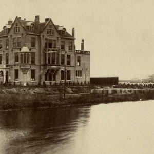 Kranenburgfabriek, Laan van Meervoort - Beeklaan, ca. 1900