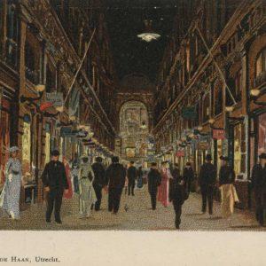 Laboyrie, parapluwinkel, Passage, 1905