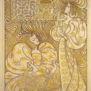 Drukkerij Lankhout, slaolieaffiche J. Toorop, 1894