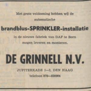 De Grinnell, Jupiterkade 1-2, 1986