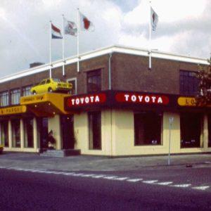 Louwman, autoshowroom, Binckhorstlaan 172-174, jaren 70