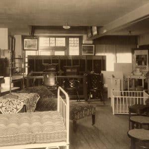 P.B. van Moorsel, Kerkplein 12, slaapkamermeubilair, 1912