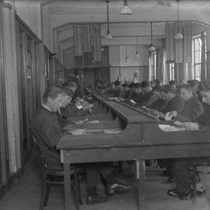 Interieur PCGD, Spaarneplein, 1929