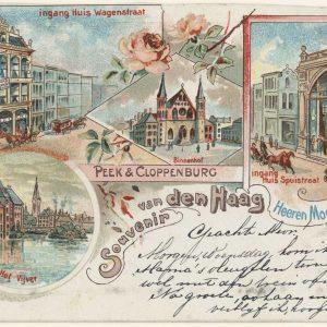 P&C, ansicht Den Haag, P&C,1899