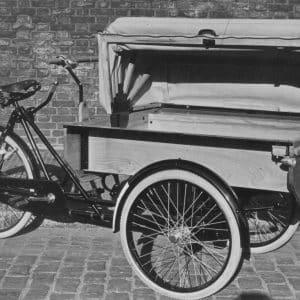 ELVA, PTT bakfiets, jaren 30