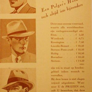 Pelger, reclameflyer, 1932