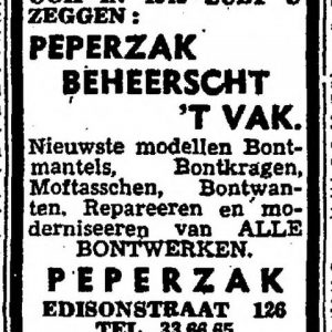 Peperzak, Het Vaderland, 1943