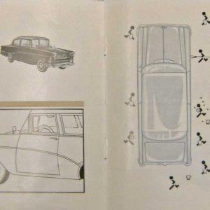 RIVA-brochure, Leeghwaterplein 15, 1957