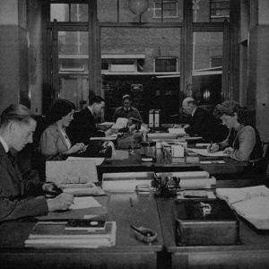 Kantoor Schilte, koffie en thee, 1943