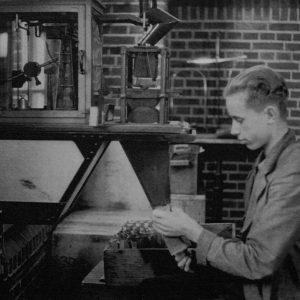 Schilte, koffie en thee, Nieuwstraat, 1943