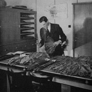 Schilte, tabak, Nieuwstraat, 1943