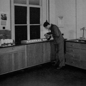Schilte, theeproefkamer, 1943