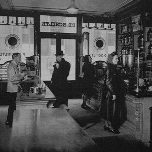 Winkel Schilte, Groenmarkt, 1943