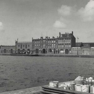 Schuijt, beurtvaart, Leeghwaterkade, 1952