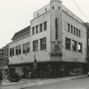 Servaas, muziekhandel, Schoolstraat, Riviervismarkt, 1972