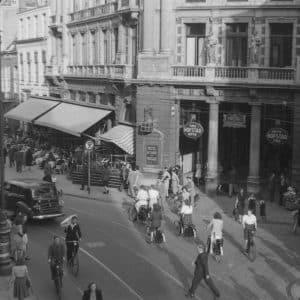 Shell hoofdkantoor 1898-1902, Buitenhof 2, 1950