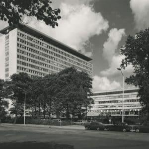 Shell, uitbreiding Oostduinlaan73-75, 1975