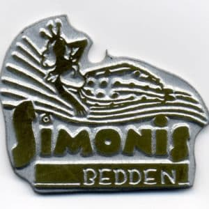 Simonis, bedden, logo, jaren 60