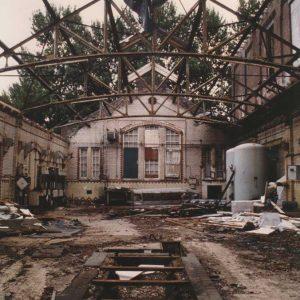 Slachthuis, sloop, machinekamer, 1992
