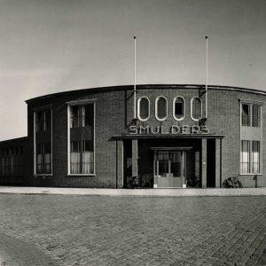 Smulders, drukkerij, Binckhorstlaan, 1952
