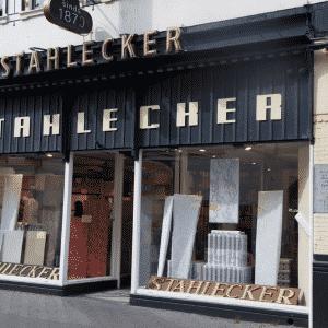 Stahlecker, behangwinkel, Boekhorststraat 29, 2020