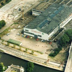 Starliftfabriek, Westvlietweg, jaren 70.